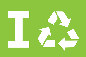 "Offizielles Logo des ""America Recycles Day""."