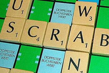 Scrabble Spielfeld