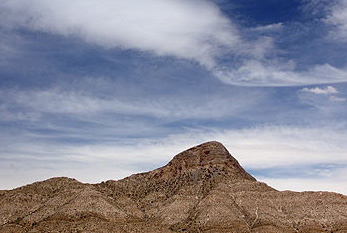 Ein Berg im Red Rock Canyon (USA).